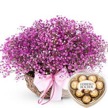 발렌타인 핑크안개♬(초콜렛무료증정)