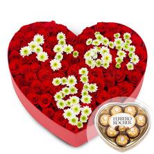 사랑해 널♥100송이(초콜렛무료증정)