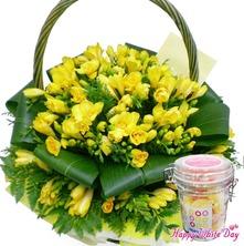 후리지아빛향기(사탕무료증정)